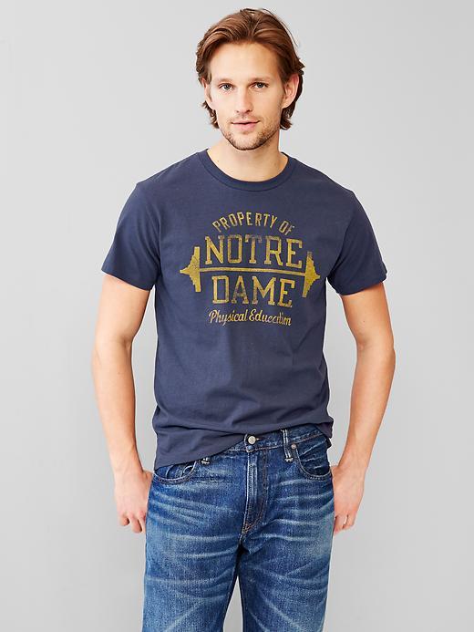 美國百分百【全新真品】GAP T恤 T-SHIRT 短袖 上衣 LOGO 圓領 深藍色 純棉 S XL號 男 F007