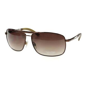 美國百分百【全新真品】Calvin Klein 太陽眼鏡 CK 墨鏡 配件 眼鏡 抗UV 騎士 咖啡 茶色 F064