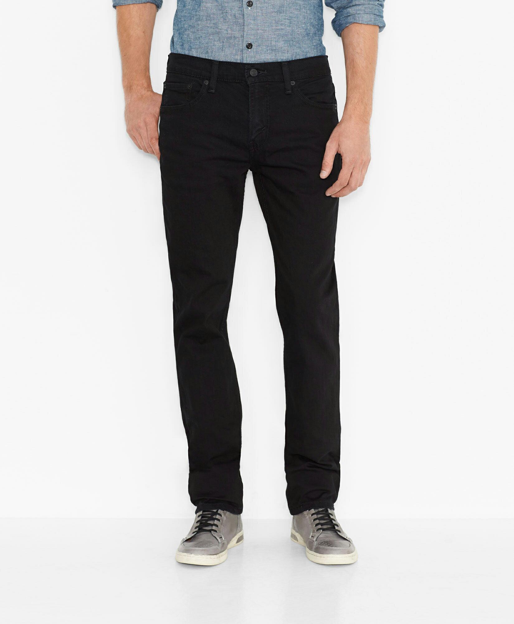 美國百分百【全新真品】Levis 511 Slim Fit 男 牛仔褲 直筒褲 合身 單寧 黑色 30腰 E264