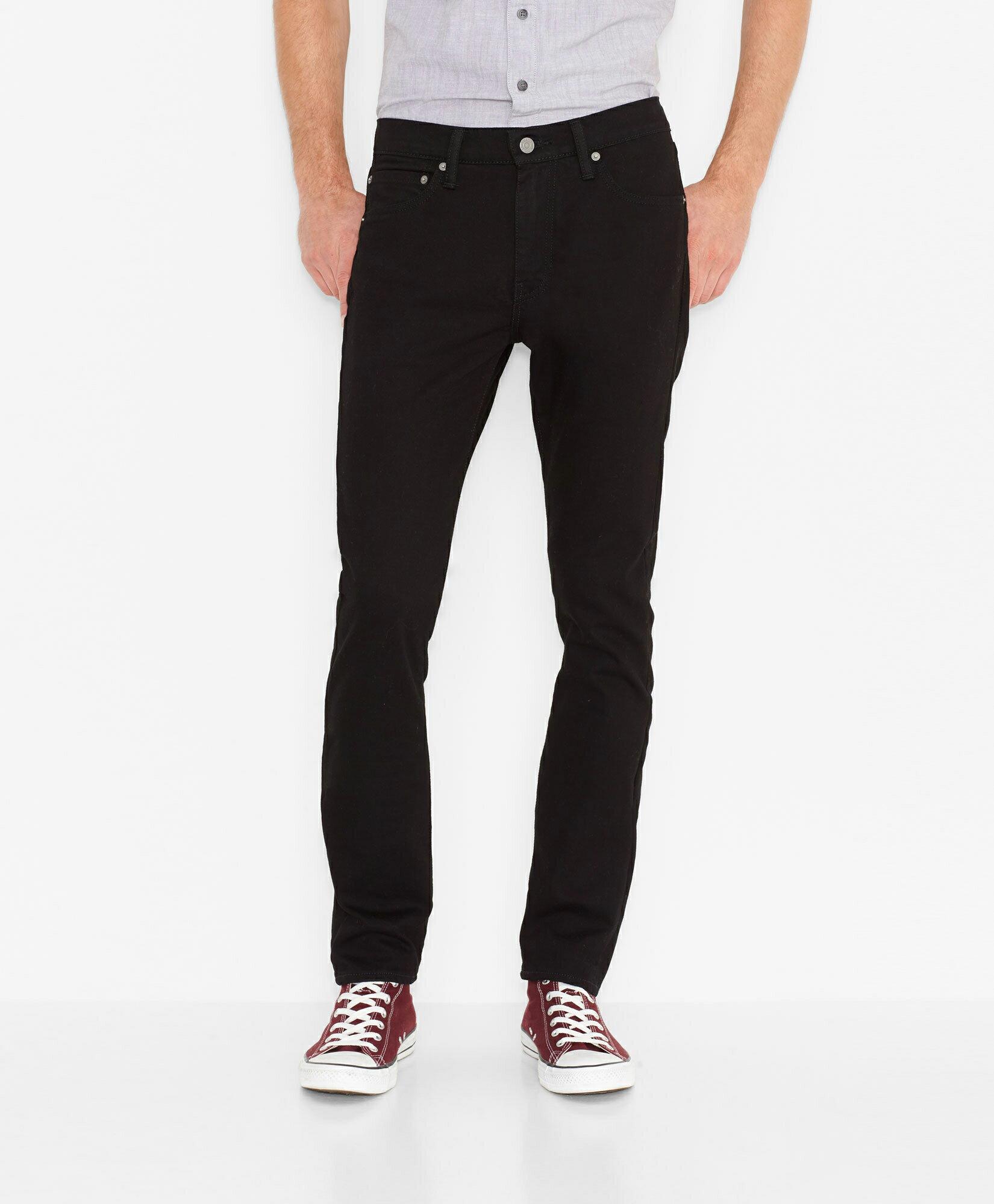美國百分百【全新真品】Levis 510 Skinny Fit 男 牛仔褲 直筒 合身 窄版 單寧 黑 31腰 E283