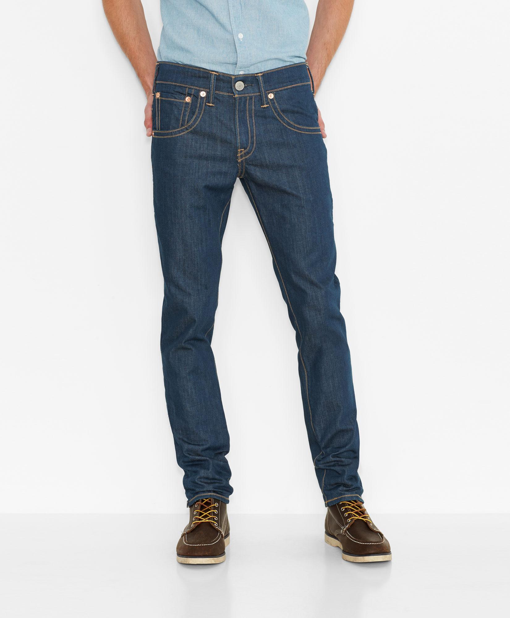 美國百分百【全新真品】Levis 511 Slim Fit 男 牛仔褲 直筒褲 合身 單寧 雙縫線 復古藍 F101