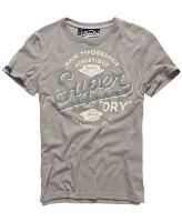 極度乾燥商品推薦到美國百分百【Superdry】極度乾燥 T恤 上衣 T-shirt 短袖 短T 圓領 經典 淺灰 復古 S M XL XXL號 F229就在美國百分百推薦極度乾燥商品
