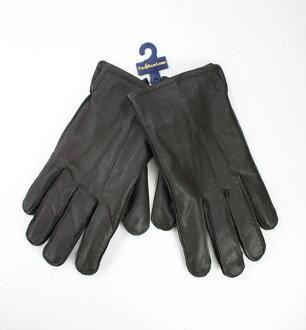 美國百分百【全新真品】Ralph Lauren RL 男女 圖案 咖啡色 手套 真皮 中空纖維 Polo馬 免運 L號