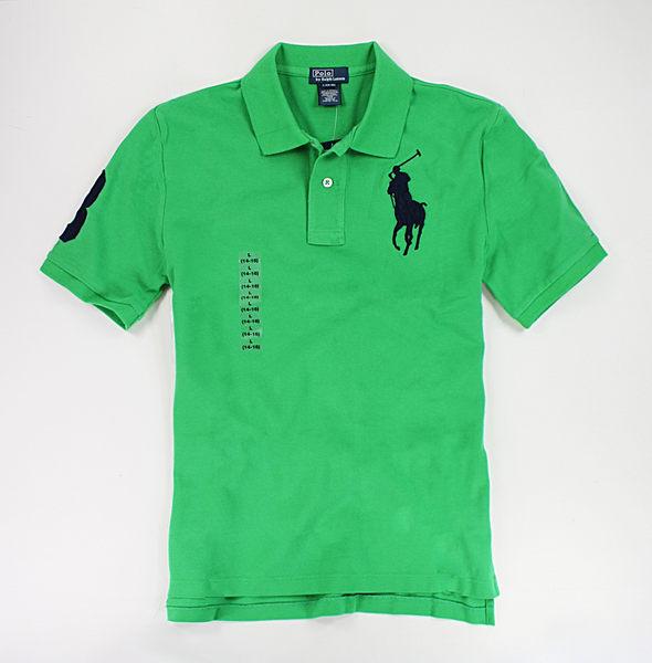 美國百分百【全新真品】Ralph Lauren RL 翠綠色 男款 大馬 POLO衫 短袖 上衣 XS S 可超取
