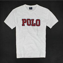 美國百分百【全新真品】Ralph Lauren RL POLO 文字 數字 男 T恤 T-shirt Tee 白色 XS S號 免運