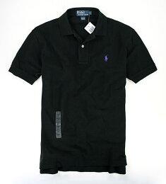 美國百分百 黑色 短袖 上衣 POLO衫 素面