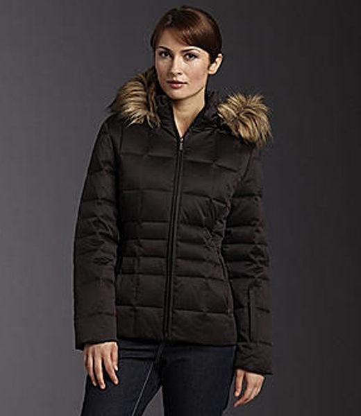 美國百分百【全新真品】Calvin Klein CK 女生 羽絨 外套 保暖 夾克 黑色 外衣 S號 超取免運