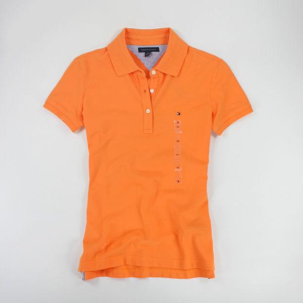 美國百分百【全新真品】Tommy Hilfiger 女 短袖 POLO衫 網眼 顯瘦款 亮色系 綠 橘 黃 XS號 TH