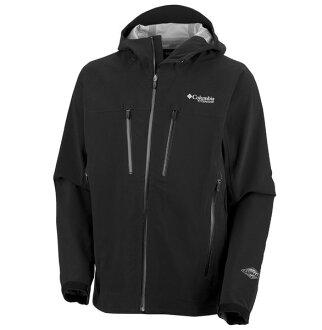 美國百分百【全新真品】Columbia 哥倫比亞 gore-tex等級 防水 輕巧 夾克 風衣 外套 黑色 S M XL