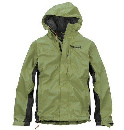 美國百分百【全新真品】Timberland 男 綠色 夾克 連帽 外套 戶外 立領 防風 防水 超取 M號 B980