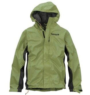 美國百分百【全新真品】Timberland 男 草綠 夾克 連帽 外套 戶外 立領 防風 防水 超取 S M 號