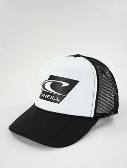 美國百分百【全新真品】Oneill 素面 衝浪 logo 潮流 網帽 棒球帽 男 遮陽帽 藍黑兩色 特價