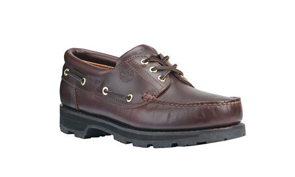 美國百分百【全新真品】Timberland 男鞋 帆船鞋 經典 雷根鞋 手工 牛皮 深棕色 8 8.5 9號 A174