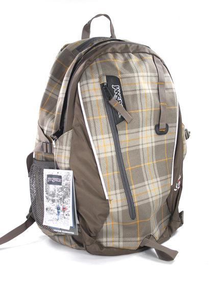 美國百分百【全新真品】Jansport 後背包 可放筆電 大容量 舒壓款 格紋 排汗 美國寄件