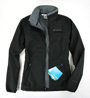 美國百分百【全新真品】Columbia哥倫比亞外出登山防寒防水保暖高領外套黑色夾克S號B689