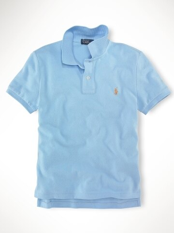 美國百分百【全新真品】Ralph Lauren children 童裝 男童 女童 短polo衫 淡藍色 RL 親子裝 4歲