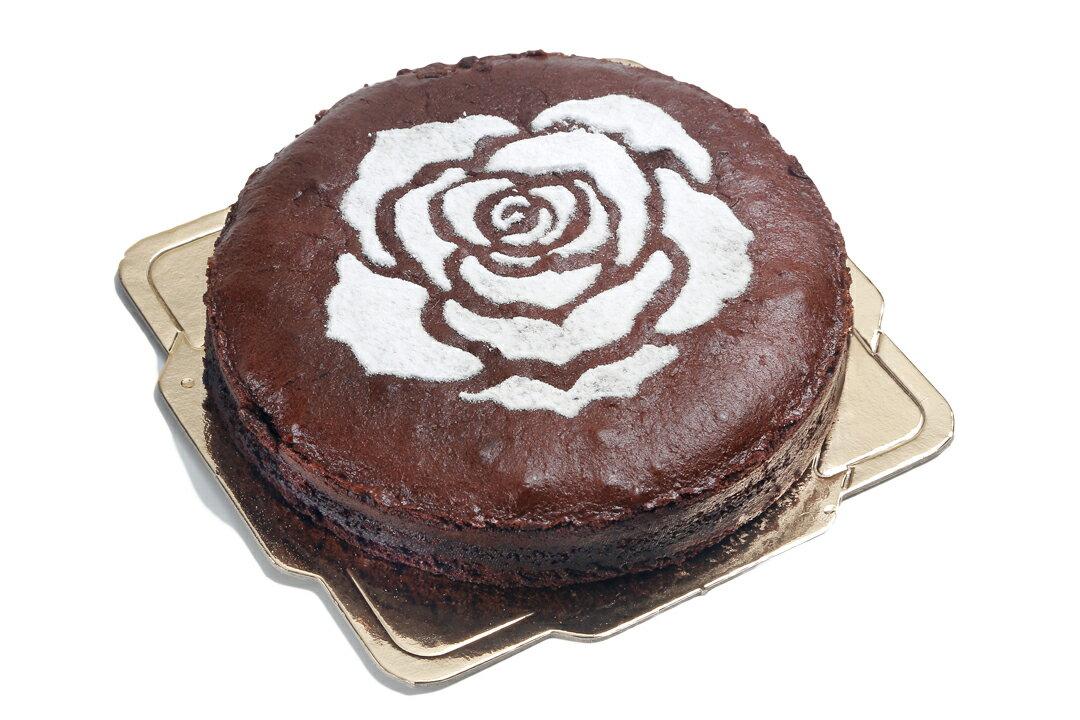 【喜之坊】濃郁絲滑古典巧克力6吋(溫馨玫瑰)~父親節蛋糕