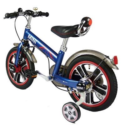 【悅兒園婦幼生活館】MINI COOPER 兒童14吋腳踏車(藍色) - RSZ1401