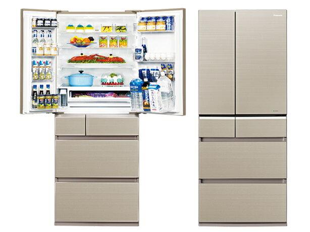 Panasonic 國際牌 608L頂級ECONAVI六門變頻冰箱NR-F611VG【零利率】※熱線07-7428010