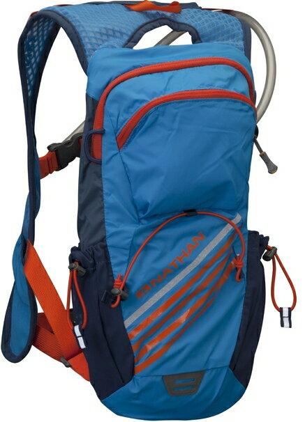 NATHAN 馬拉松/路跑/腳踏車 Firestorm 二鐵專用水袋背包 附2L水袋 NA5033 藍