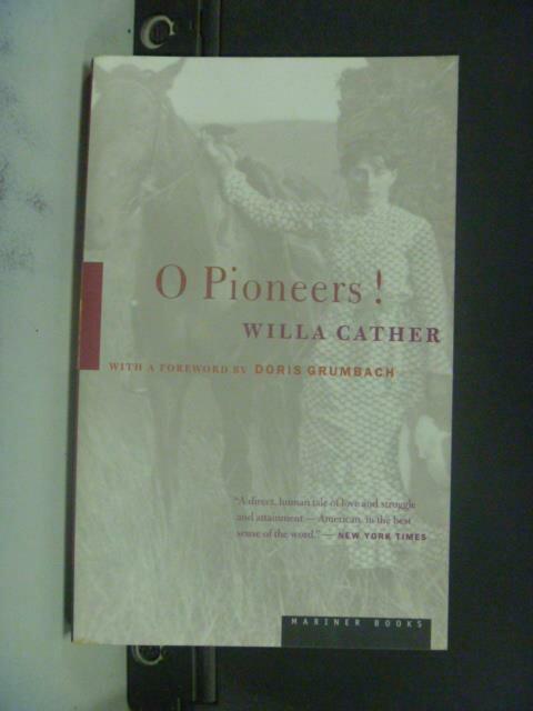 【書寶二手書T4/原文小說_JJE】O Pioneers!_Willa Cather