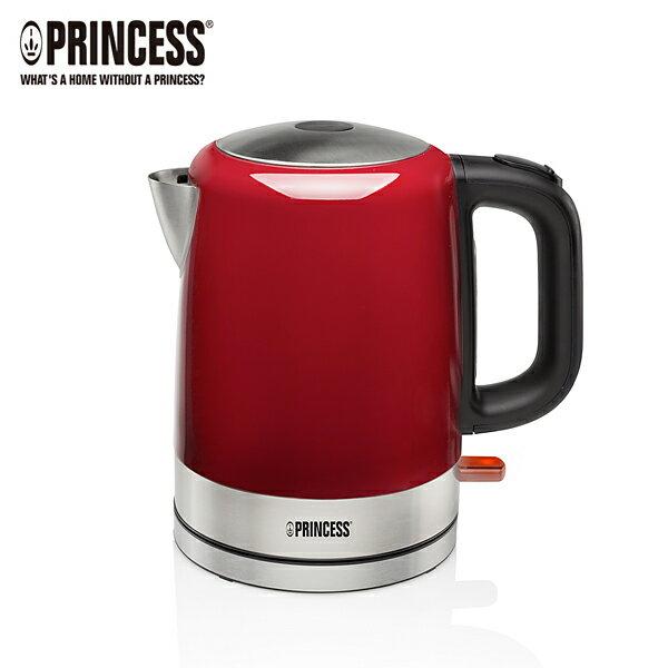 【PRINCESS|荷蘭公主】1L不鏽鋼快煮壺紅236000R【三井3C】