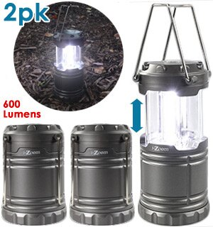 2-Pack of the SWAT Tactical Collapsible Lantern - Brightness You Can See A Mile Away 0