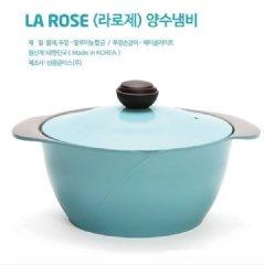 韓國CHEFTOPF玫瑰鍋雙耳湯鍋24cm【櫻桃飾品】【23124】