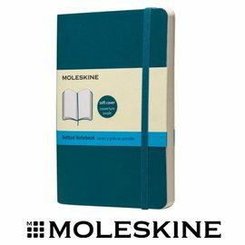 義大利 MOLESKINE 67323555 彩色點格筆記本 / 軟式 / 藍 / P