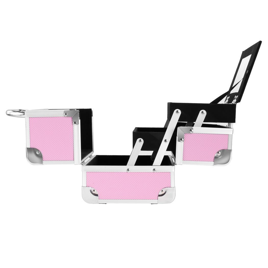 Lockable Makeup Travel Case Jewelry Box 1