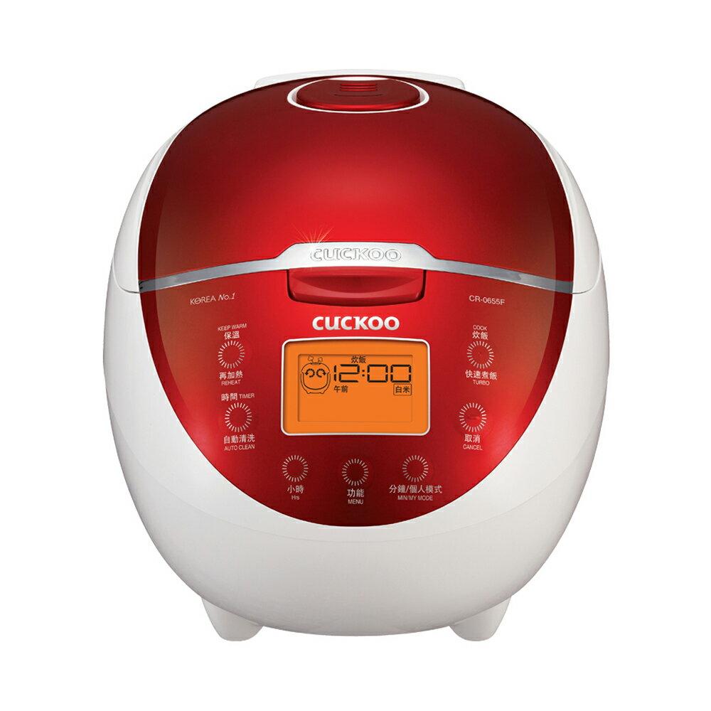 【Cuckoo 福庫】6人份微電腦炊飯電子鍋 (CR-0655F)