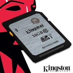 Kingston 金士頓 16G MicroSDHC(C10) UHS-I 記憶卡(SDC10G2/16GBFR)★★★ 全新原廠公司貨★★★含稅附發票