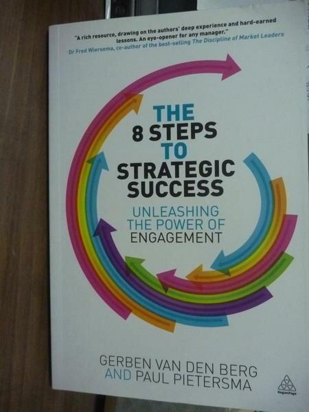 ~書寶 書T9/原文書_PEJ~The 8 Steps to Strategic Succ
