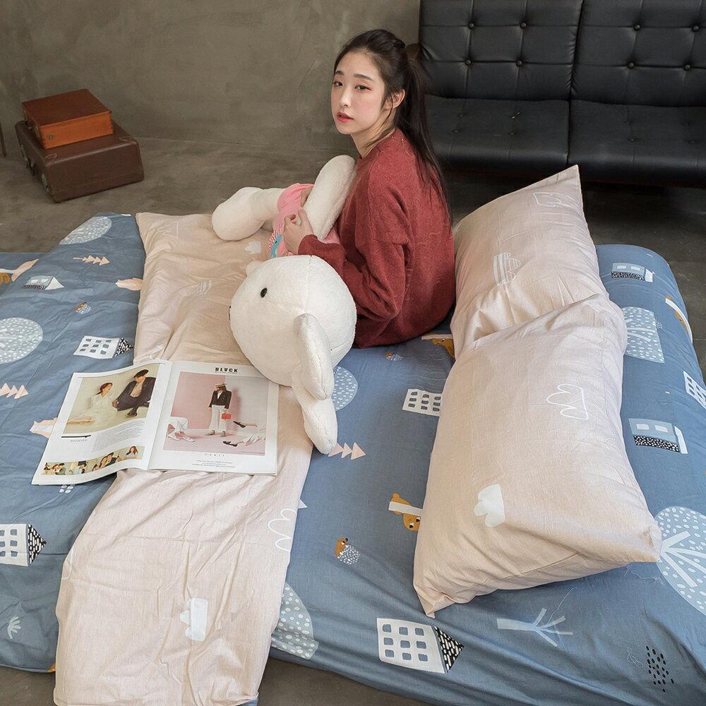 森謎情話 床包/被套/兩用被/枕套 單品賣場 100%復古純棉 台灣製