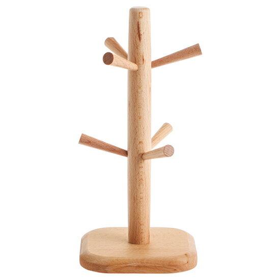 居家家木质杯架创意收纳置物架水杯架挂架茶杯架倒挂沥水架杯子架