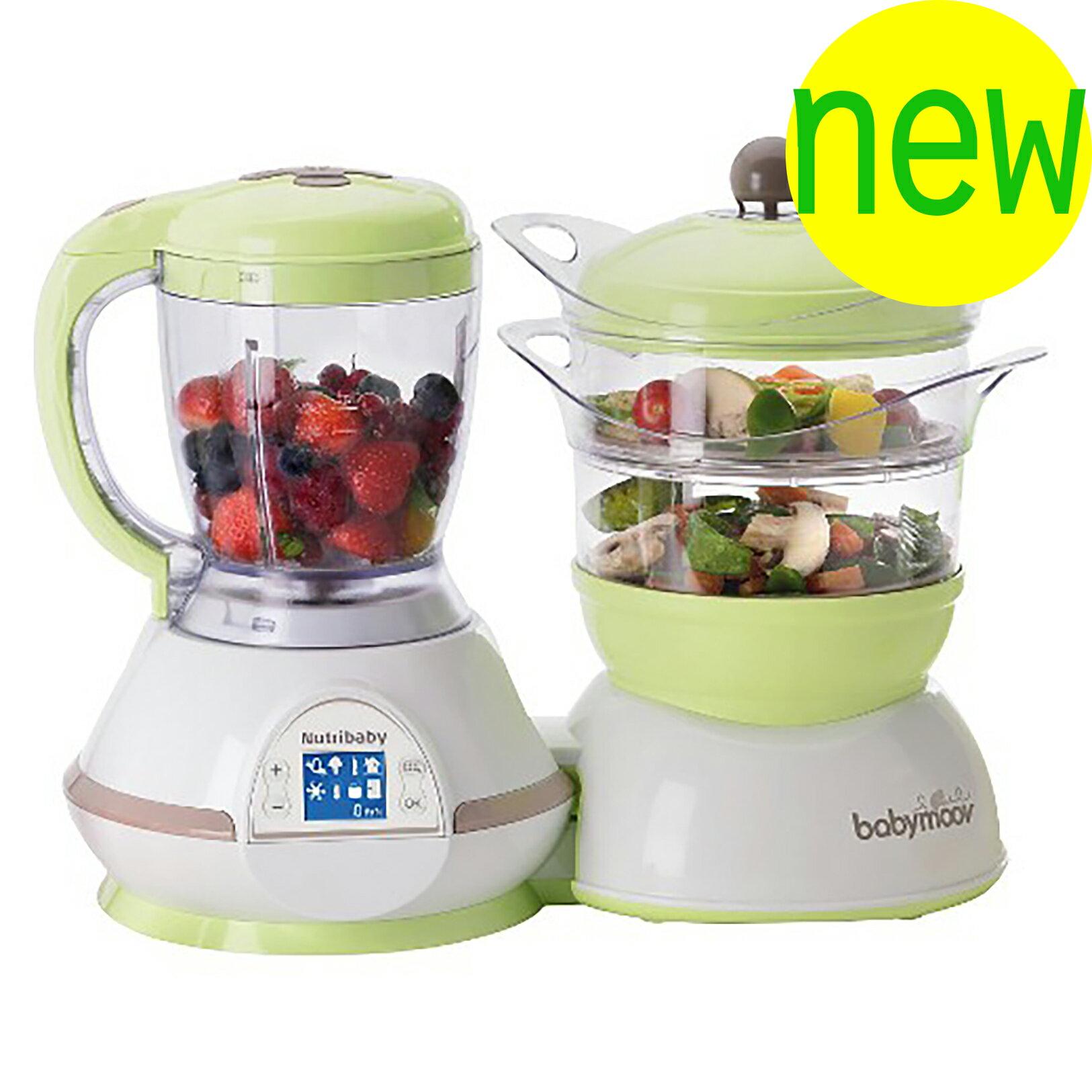 『121婦嬰用品』【Babymoov】多功能五合一食物調理機
