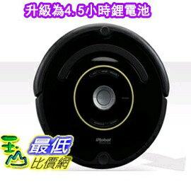 [套餐二升級為4.5小時鋰電池不含虛擬牆] iRobot Roomba 650 Vacuum Cleaning 定時吸塵器 送濾網8片+邊刷4支+清潔刷