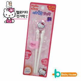 ^~ Baby House ^~ Hello Kitty 學習筷~愛兒房 館~