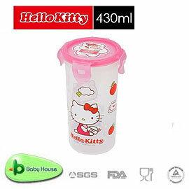 Baby House   HELLO KITTY PP 保鮮盒 430ML  圓型~愛