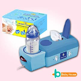 [ Baby House ] 愛兒房2合1濕巾、牛奶保溫機(濕巾加熱器)《加贈寶寶潔膚柔濕巾-3包/一串》【愛兒房生活館】