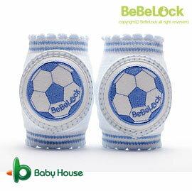 [ Baby House ] 愛兒房 BeBeLock 韓國進口寶寶護膝【足球金童】Blue B68-026【愛兒房生活館】
