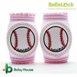 [ Baby House ] BeBeLock 韓國進口寶寶護膝【棒球投手】Pink B68-026B【愛兒房生活館】
