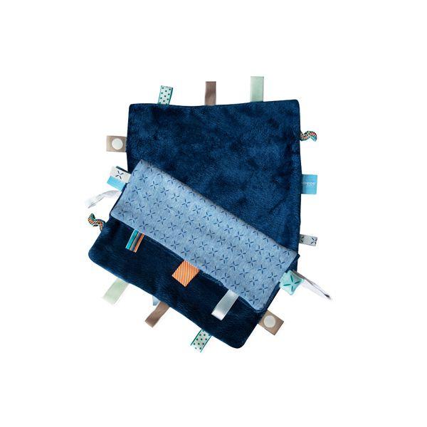 ollobaby瓦吉司 - Snoozebaby - 美夢成真系列安撫巾 -青瓷藍 - 限時優惠好康折扣