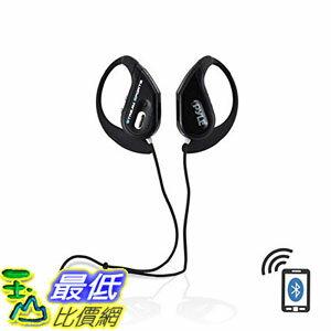 [107美國直購] 耳機 Pyle PWBH18BK Water Resistant Bluetooth Streaming Wireless Headphones Built-in Micropho