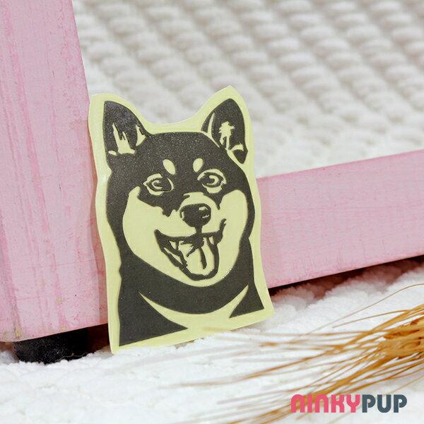 [反光貼紙] 柴犬 寫實款 6*4.3 cm