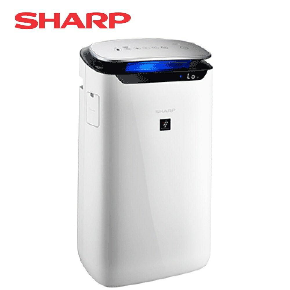 【✯加贈點數回饋✯】[SHARP 夏普]15坪自動除菌離子空氣清淨機 FP-J60T-W【加贈 奇美18L電烤箱 EV-18B0AK】