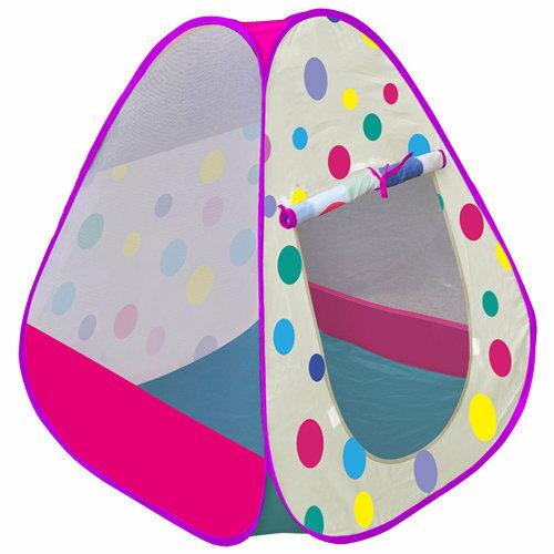 【淘氣寶寶】【CHING-CHING親親】三角繽紛彩球遊戲球屋+100球 CBH-26 (紫色)