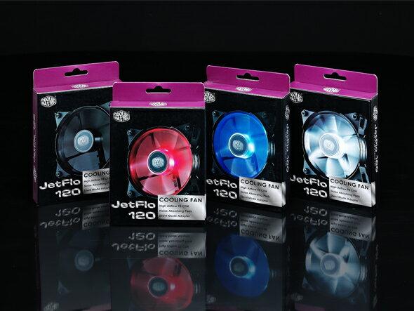 【現貨】COOLER MASTER JETFLO 系列 JETFLO 120 機殼風扇 風扇 靜音風扇【迪特軍】 0