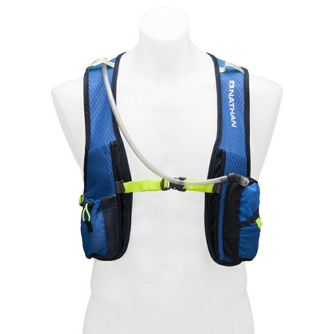 ~登山樂~ 美國 NATHAN Grit戰鬥水袋背包 2L   含水袋  藍色 # NA5
