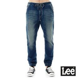 Lee   針織牛仔休閒褲/DC-男款-藍
